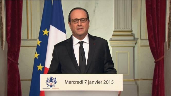 """Hollande: """"Dag van nationale rouw"""""""