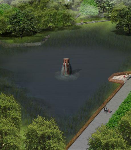Onderzoek naar kapotte pomp: Fontein in Blokkenpark in Nijverdal spuit voorlopig nog geen water