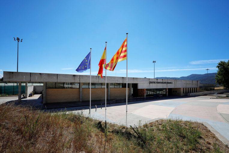 De Brians 2-gevangenis in Barcelona.  Beeld EPA