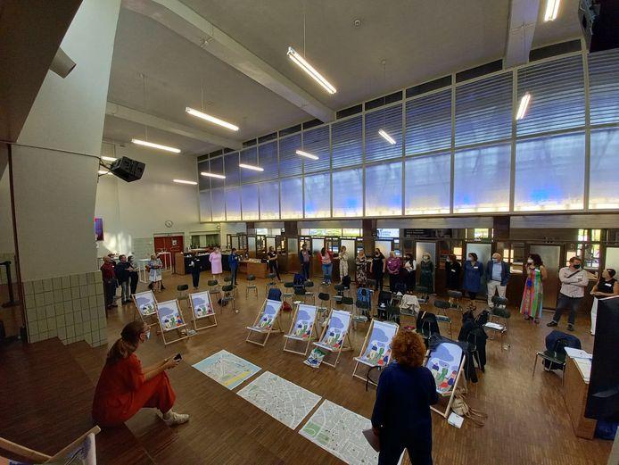 In De Grote Post werden de koppen bij elkaar gestoken op de ideeën van de vrijwilligers te koppelen aan de samenwerking van de lokale partners.