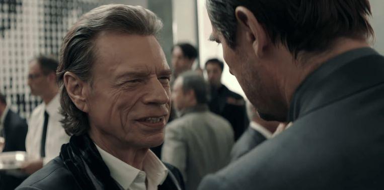 Mick Jagger in 'The Burnt Orange Heresy'. Beeld rv