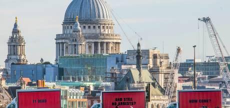 Actievoerders kopiëren reclameborden uit Hollywoodfilm