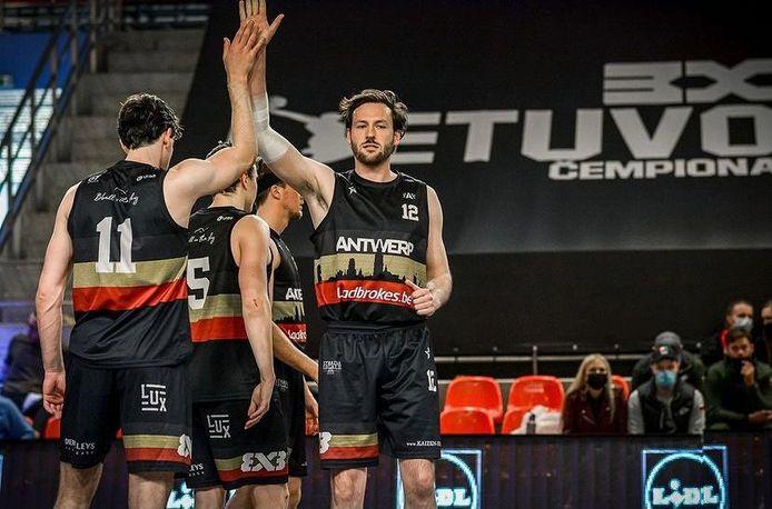 Team Antwerp zit al maanden in volle voorbereiding  voor het olympisch kwalificatietoernooi in Graz.