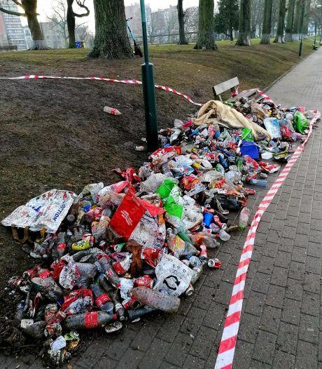 """Le parc de la Boverie jonché d'immondices après le dernier rassemblement: """"50 fois plus de déchets ramassés"""""""