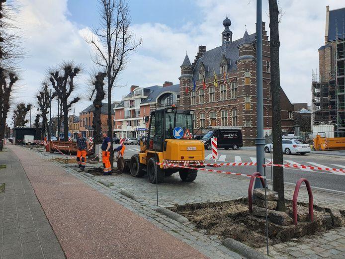 Alle boomvakken op de Vrijheid worden voorzien van meer groen errond. Er verdwijnen géén parkeerplaatsen.