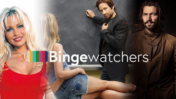 Pamela Anderson in Baywatch, David Duchovny in Californication en Michiel Huisman in Game of Thrones.