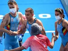 Un relais mixte de triathlon haletant, les Belgian Hammers héritent d'une belle cinquième place