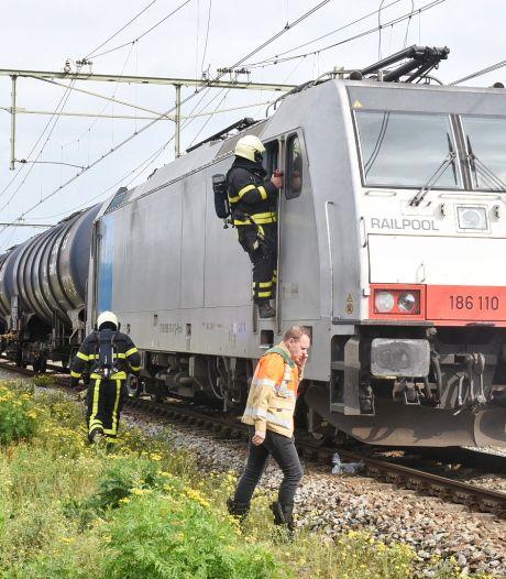 Goederentrein met benzeen vat vlam in Oisterwijk, ernstige hinder voor overig treinverkeer