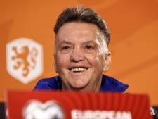 Van Gaal wijzigt Oranje tegen Gibraltar op twee plekken: 'Denk maar niet dat het makkelijk is'