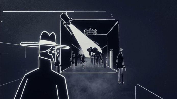 De game springt geregeld heen en weer tussen een jaren 20- of 30-setting en het heelal.
