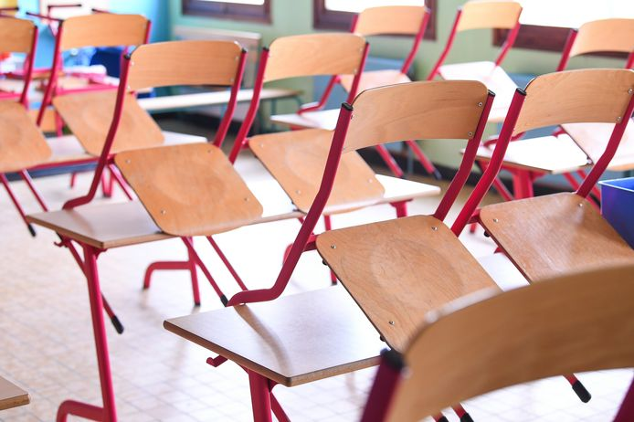 Les écoles de Maasmechelen resteront fermées une semaine supplémentaire en raison du nombre important de contaminations à la Covid-19 dans la région (illustration).