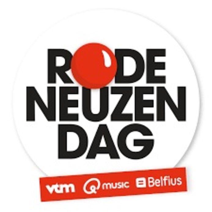 Het logo van de Rode Neuzen Dag