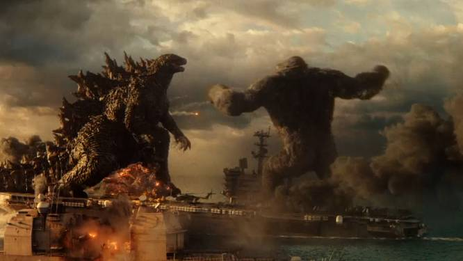 Twee epische filmmonsters clashen in Godzilla vs. Kong