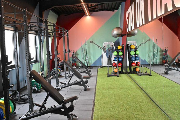 De ruimte voor personal training.