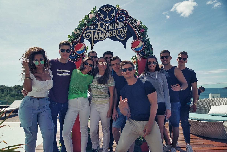 Fedde Le Grand is peter van The Sound of Tomorrow, een gedeeld project van het Tomorrowland en Pepsi Max, op zoek naar nieuw dj-talent.