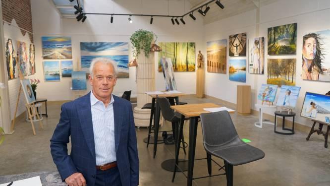 """""""37 jaar lang niet geschilderd maar nu kan ik niet meer stoppen"""": gewezen aannemer Hilaire Smet (66) bouwt magazijn om tot galerij"""