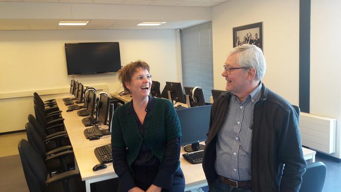 Anita de Gier en Sjef Lievens van het Computerhuis Den Bosch.