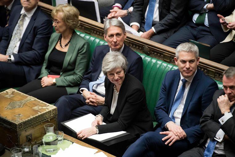 Brits premier Theresa May. Beeld AP