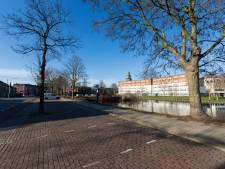 Wandel- en fietspad langs water van Vispoortgracht in Zutphen: fraaie en groene toegang tot de binnenstad