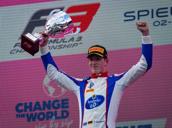'Schumi' nummer 4 op komst: David Schumacher, neef van Mick en zoon van Ralf, lijkt certitude voor F1... en dat is niet te danken aan talent