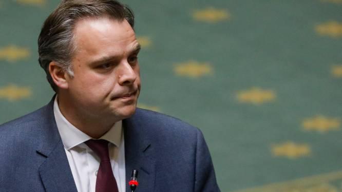 Le ministre Philppe De Backer sous le feu des questions des députés