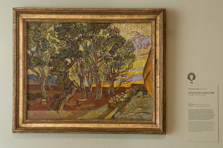 Tuin van de inrichting (1889). Beeld Cigdem Yuksel