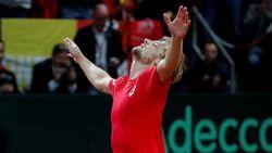 Goffin heeft het knap lastig tegen Millman maar bezorgt België wel eerste punt in Davis Cup