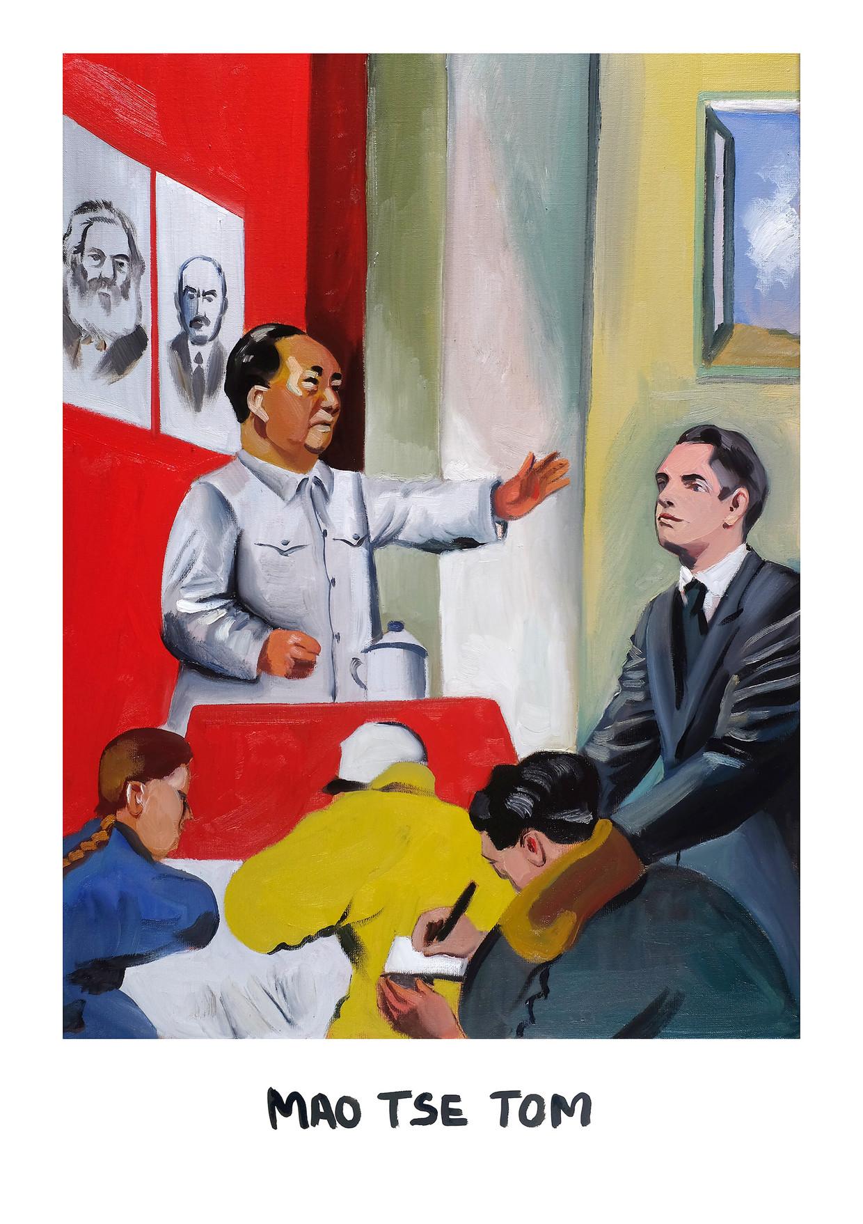 Kamaseele 36: Mao Tse Tom Beeld Kamagurka & Herr Seele