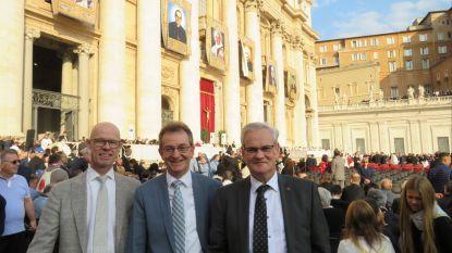 Oscar Romerocollege vertegenwoordigd tijdens heiligverklaring Oscar Romero