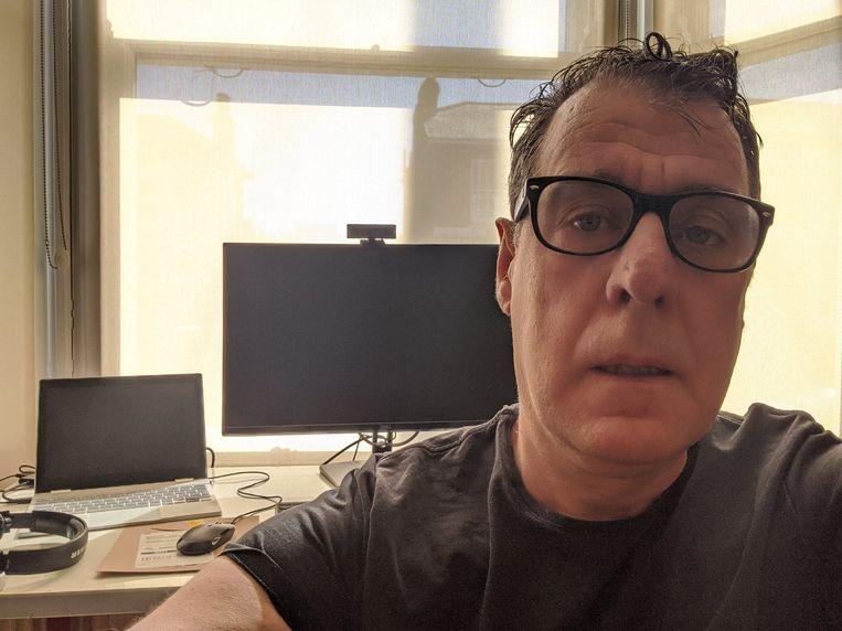 Bart Govaert (55) in Londen, Verenigd Koninkrijk. Beeld rv