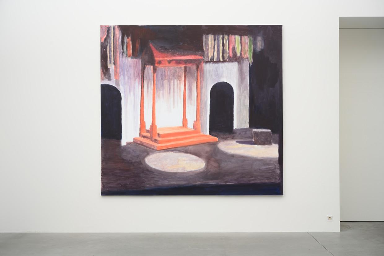 'The Stage' van Luc Tuymans. Beeld Peter Cox