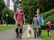 Duizend wandelaars in Oosterbeek op de been voor de Airborne wandeltocht: 'Ik loop 'm voor de 43ste keer'