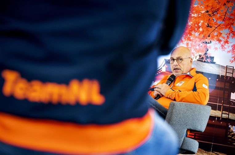 Technisch directeur NOC-NSF Maurits Hendriks: 'Dit jaar is het bijna onmogelijk om prestaties te voorspellen, omdat er niet of nauwelijks mondiale competities zijn geweest.' Beeld ANP