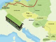 Twintig uur met de bus naar Gdansk: chauffeur 'Barski' wint geen prijs