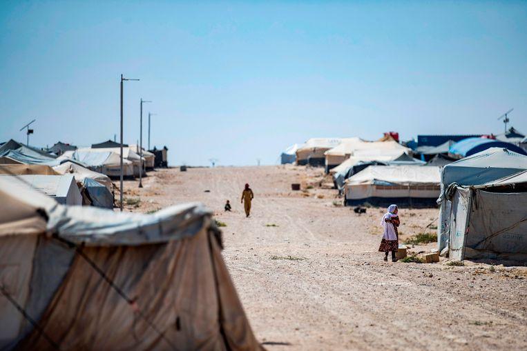 Detentiekamp Al-Hol Beeld AFP
