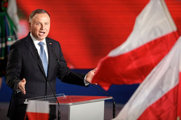 President Andrzej Duda  Beeld AP