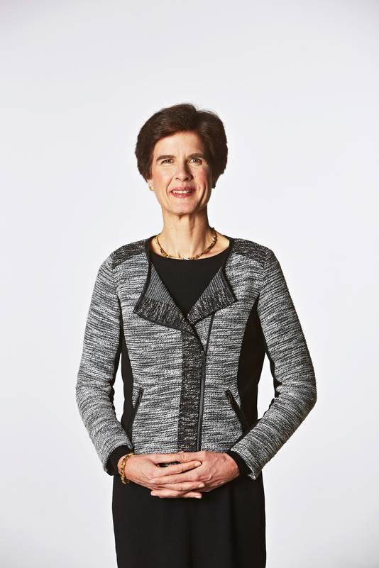 Over Susan Duinhoven (Sanoma): ,,Zij voldoet aan alle Noord-Europese eisen qua kleding op internationaal niveau.''