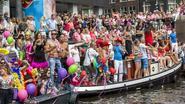 Gay Pride zet Amsterdam op stelten