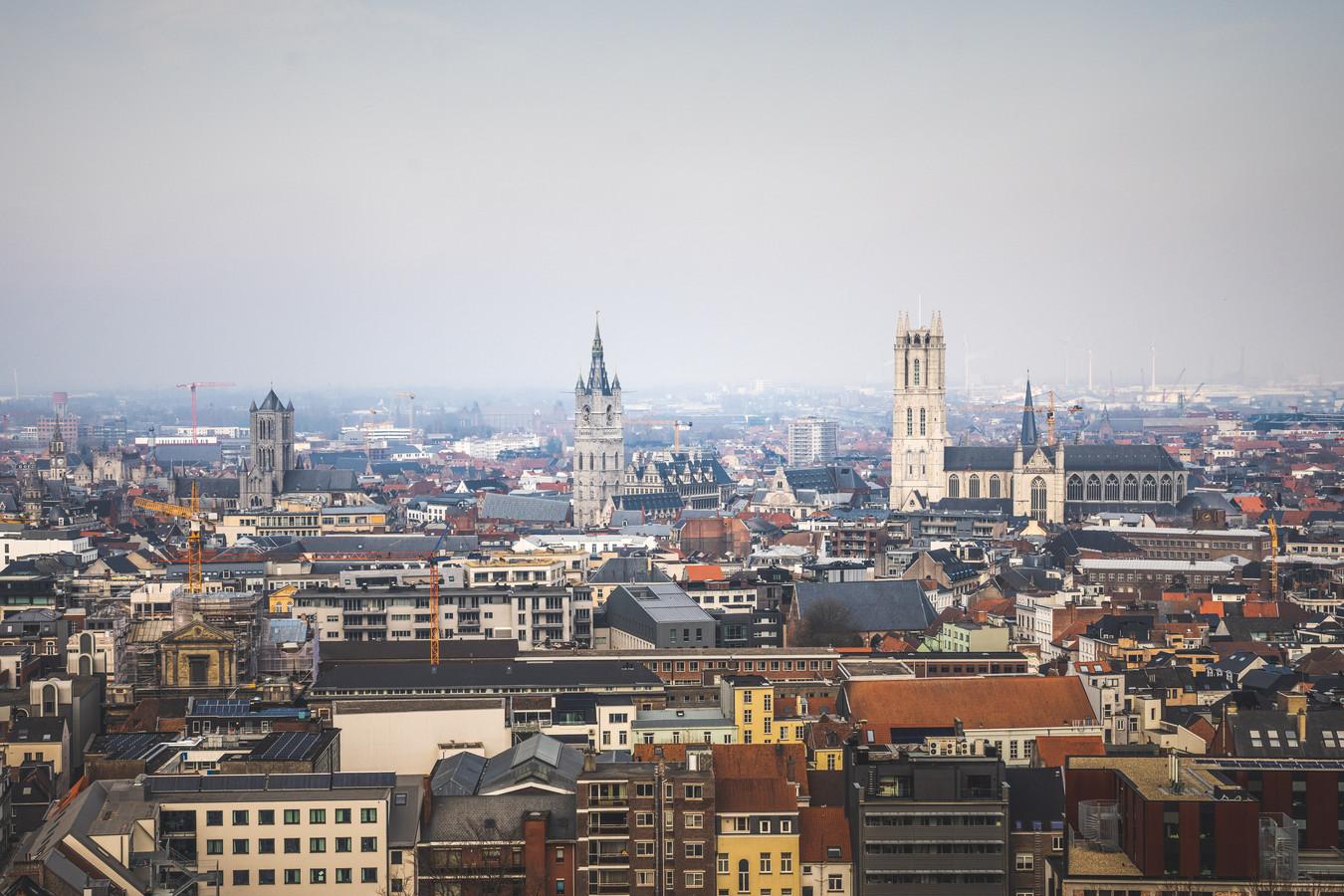 Gent demorgen web-upload dnr luchtfoto skyline
