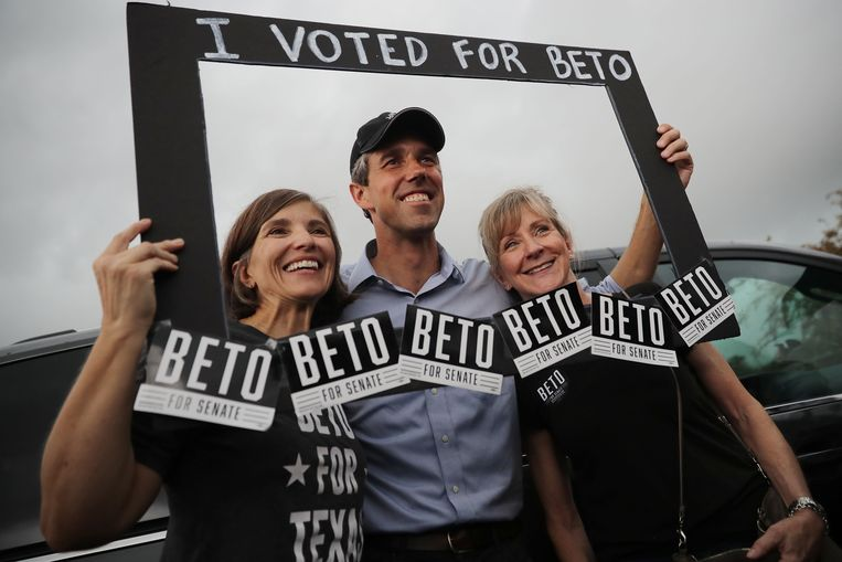 Beto O'Rourke. Beeld AFP