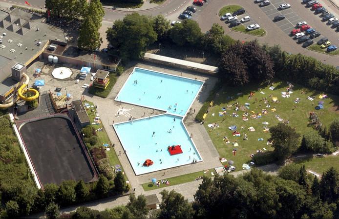 Zwembad de Banakker in 2005.
