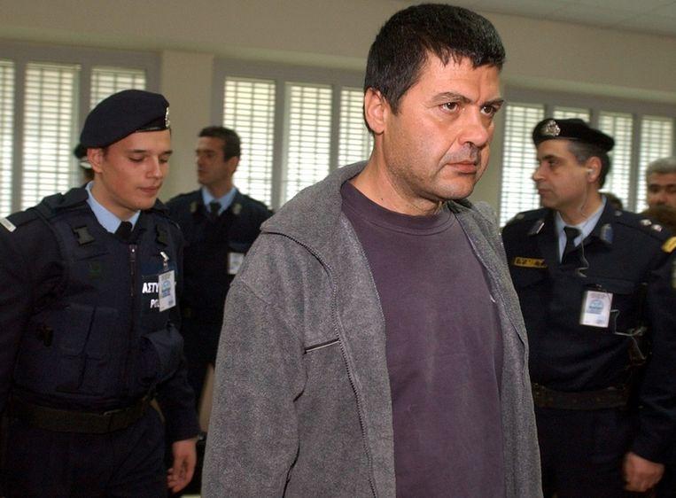 Xiros in 2003 in de rechtbank. Beeld ap