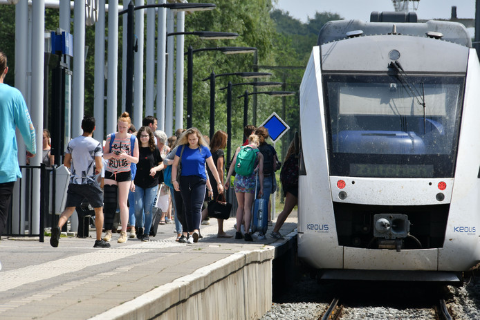 De trein op station Oldenzaal