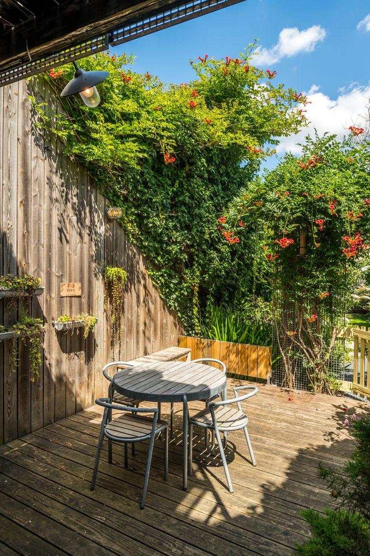 Vastgoedadviseur Kevin Gobbers: 'Kopers kiezen sneller voor een kleiner appartement met een mooie buitenruimte dan voor een groter pand zonder terras.' Beeld rv