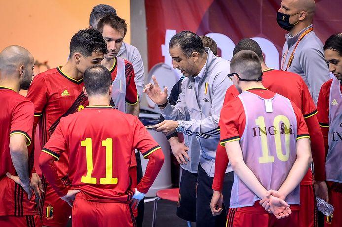 De instructies van bondscoach Karim Bachar leidden tot succes tegen Italië.