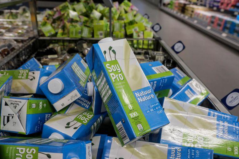 Mag sojadrank straks nog verkocht worden in verpakkingen die lijken op een melkpak? Beeld BELGA