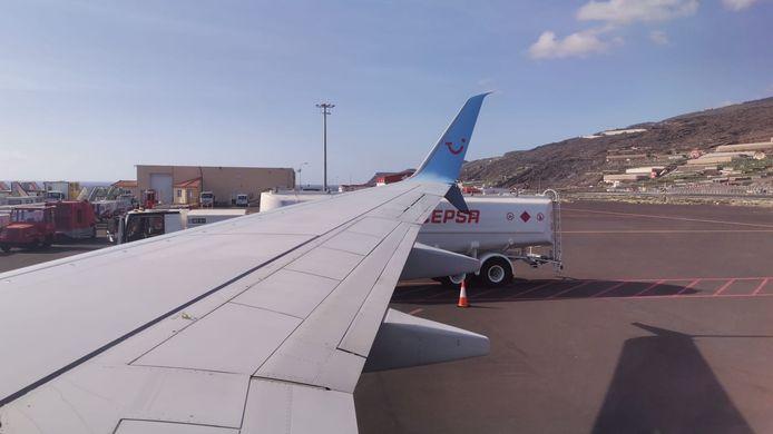 Astrid en Ronald Roelvink komen een dag later thuis dan gepland. Het vliegtuig dat ze naar huis zou brengen woensdag vanaf La Palma vloog niet.