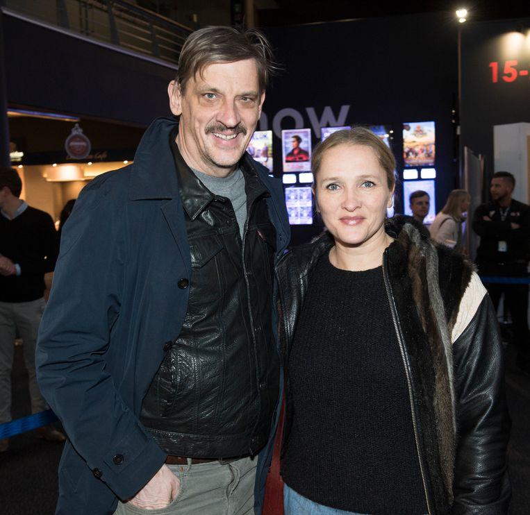 Peter Van den Begin en zijn echtgenote Tine Reymer weigeren zich te laten vaccineren. Beeld Dieter Bacquaert
