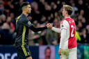 Cristiano Ronaldo en Frenkie de Jong
