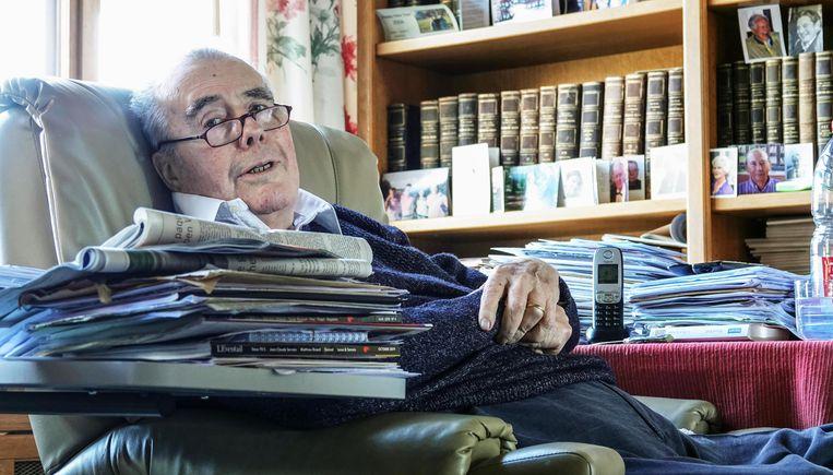 Henri d'Udekem d'Acoz zat 46 jaar in de lokale politiek, in Proven en Poperinge.  Beeld Henk Deleu